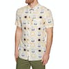 Rip Curl Westy Short Sleeve Shirt - Off White