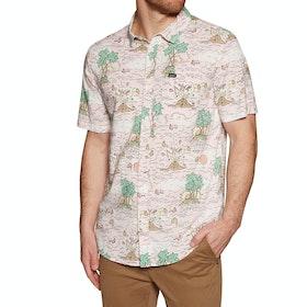 RVCA Ceddia Short Sleeve Shirt - Rosewater