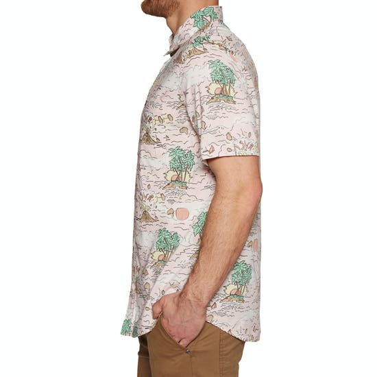 RVCA Ceddia Short Sleeve Shirt
