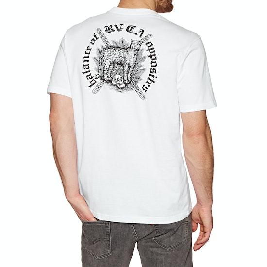 RVCA Wildcat Short Sleeve T-Shirt