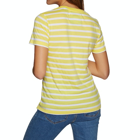 Superdry West Coast Stripe Entry Womens Short Sleeve T-Shirt