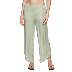 Amuse Society Tequila Sunrise Womens Trousers - Palm Green