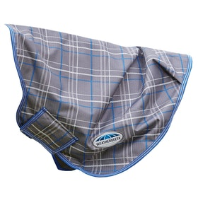Weatherbeeta Comfitec Premier Free Lite Neck Cover - Grey Plaid