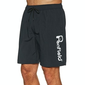 Penfield Rossiter Swim Shorts - Black