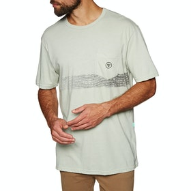 Vissla Raya Pocket Kurzarm-T-Shirt - Agave Heather