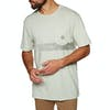 Vissla Raya Pocket Short Sleeve T-Shirt - Agave Heather