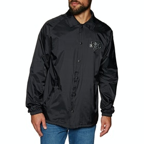 Vissla Vinyl Coaches Jacke - Black