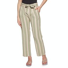 Amuse Society Bay Bay Trousers - Palm Green