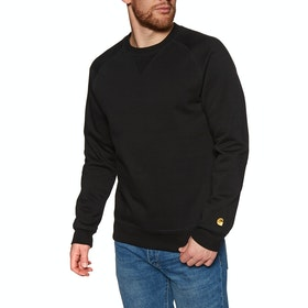 Carhartt Chase Sweater - Black Gold