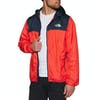 North Face Cyclone 2 Hooded Jacket - Fiery Red Urban Navy