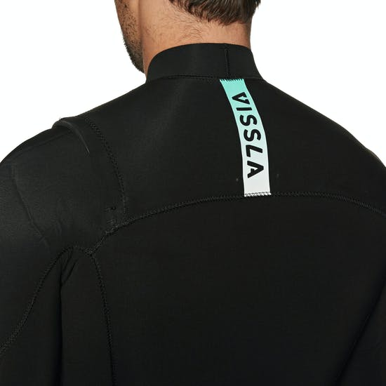 Vissla Seven Seas 4/3mm 2019 Chest Zip Wetsuit