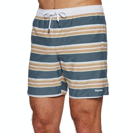 Rhythm Coastal Stripe Beach Shorts