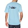Patagonia Fitz Roy Tarpon Responsibili-tee Short Sleeve T-Shirt - Break Up Blue