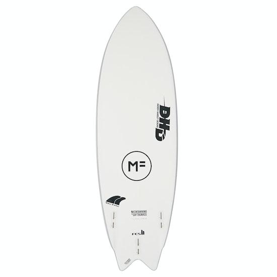 Mick Fanning MF DHD Twin FCS II Surfboard