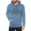 Deus Ex Machina Indigo Shield Pullover Hoody - Light