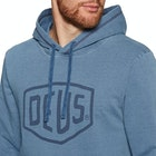 Deus Ex Machina Indigo Shield Mens Pullover Hoody