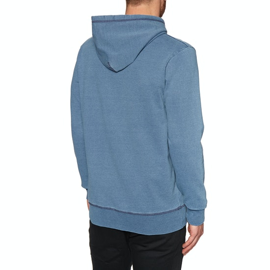 Deus Ex Machina Indigo Shield Pullover Hoody