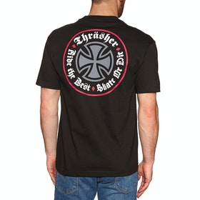 Independent Thrasher Oat Short Sleeve T-Shirt - Black