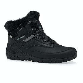 Merrell Aurura 6 ICE PLUS WTPF Mid Walking Boots - Black