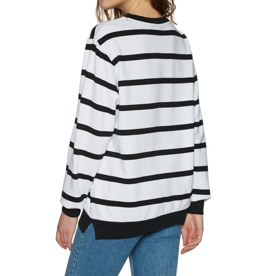 O Neill Essentials Stripe Crew Sweater