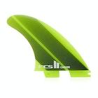 FCS II Carver Neo Glass Acid Gradient Tri-quad Fin