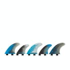 FCS Performance Core 5 Tri-quad Fin