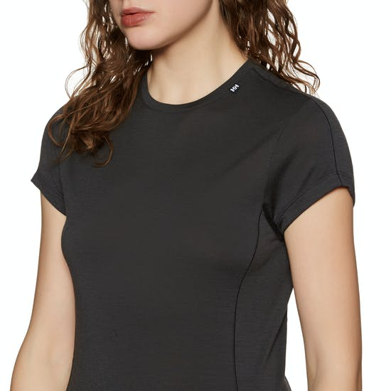 Top Abbigliamento Base Donna Helly Hansen Merino Light Short Sleeve