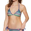 Haut de maillot de bain Superdry Crochet Carnival Tri - Multi Stripe