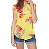 Joules Jae Womens Top - Lemon Floral
