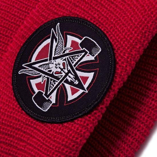 Independent Thrasher Pentagram Cross Beanie