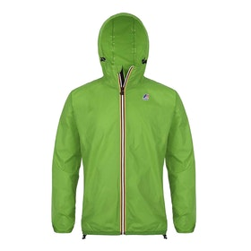 K-Way Le Vrai Claude 3.0 Waterproof Jacket - Mid Green
