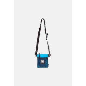 Obey Conditions Side Pouch Messenger - Pure Teal