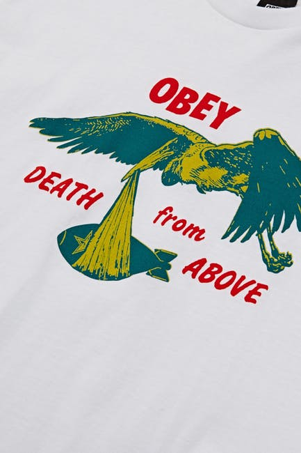 Obey Death From Above Kurzarm-T-Shirt