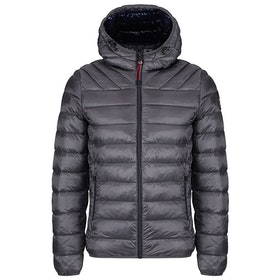 Napapijri Aerons Hooded Jacket - Dark Grey