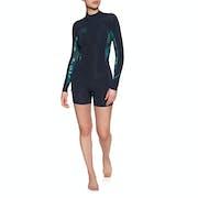 O'Neill Bahia 2/1mm Back Zip Long Sleeve Shorty Wetsuit