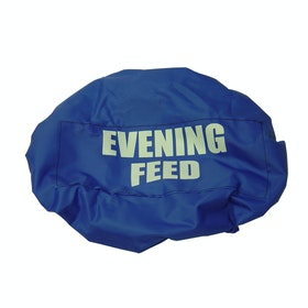 Bitz Evening Feed Bucket Cover - Royal Blue