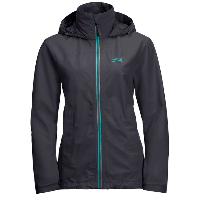 Jack Wolfskin Evandale Womens Waterproof Jacket