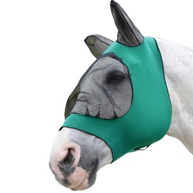 Weatherbeeta Stretch Eye Saver With Ears Fly Mask - Hunter/black