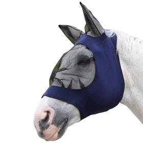 Weatherbeeta Stretch Eye Saver With Ears Fly Mask - Navy/black