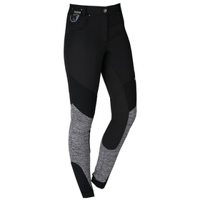 Horka Poly Winter Lightweight Riding Breeches - Black