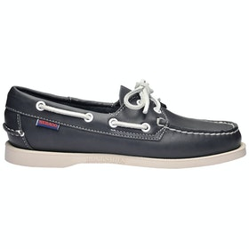 Scarpe Slip On Donna Sebago Dockside Portland - Blue Navy
