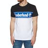 Timberland Cut and Sew Short Sleeve T-Shirt - Black