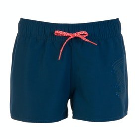 Protest Fouke 18 Jr Girls Boardshorts - Gas Blue