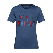 T-Shirt à Manche Courte Enfant Jack Wolfskin Brand