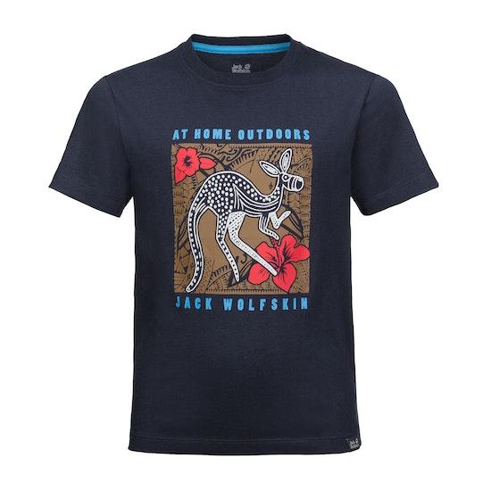 Jack Wolfskin Kuku Trail Kids Short Sleeve T-Shirt