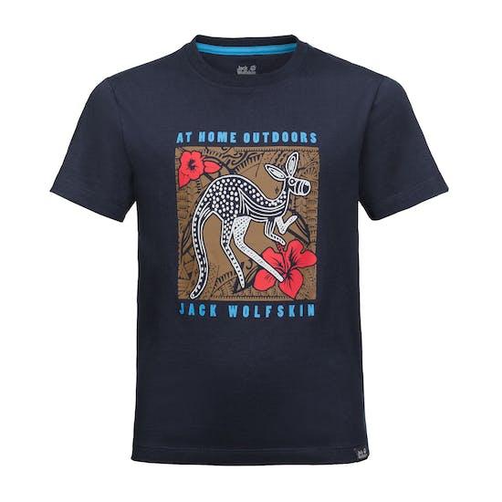 T-Shirt à Manche Courte Enfant Jack Wolfskin Kuku Trail
