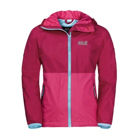 Veste Enfant Jack Wolfskin Rainy Days - Azalea Red