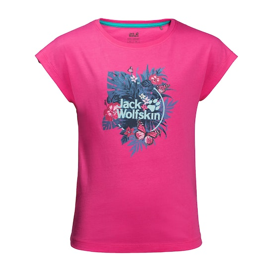 Jack Wolfskin Tropical , Kortärmad T-shirt Barns