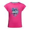 Jack Wolfskin Tropical , Kortärmad T-shirt Barns - Pink Peony