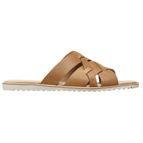 Sorel Ella Slide Ladies Sandals - Touchy Camel Brown